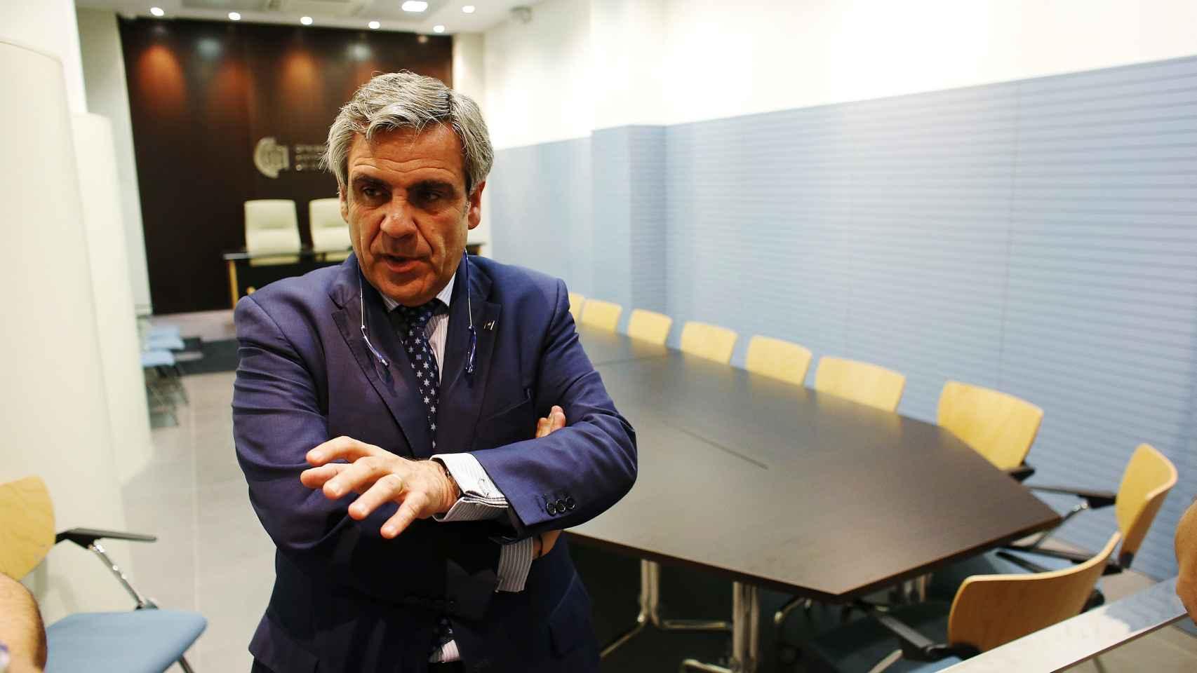 El director de la Oficina Antifraude de Cataluña, Daniel de Alfonso