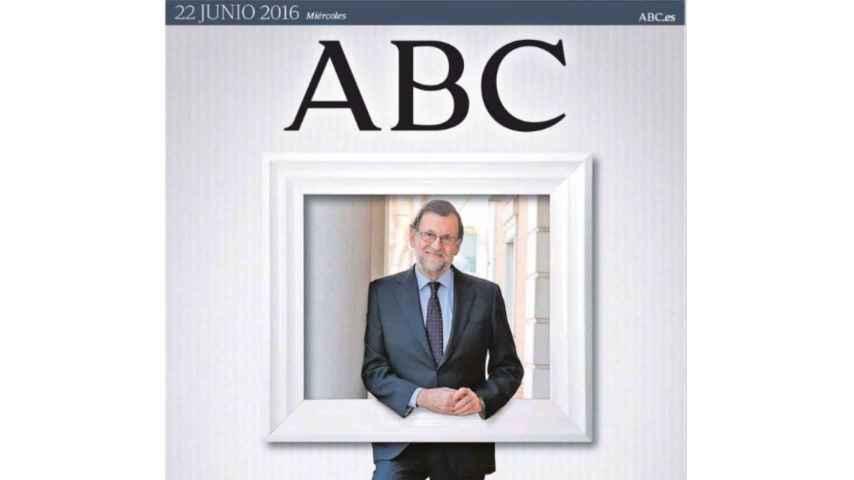La portada de ABC del 22 de junio 2016