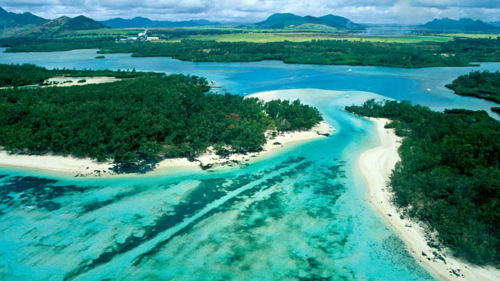 Otra imagen de la isla.