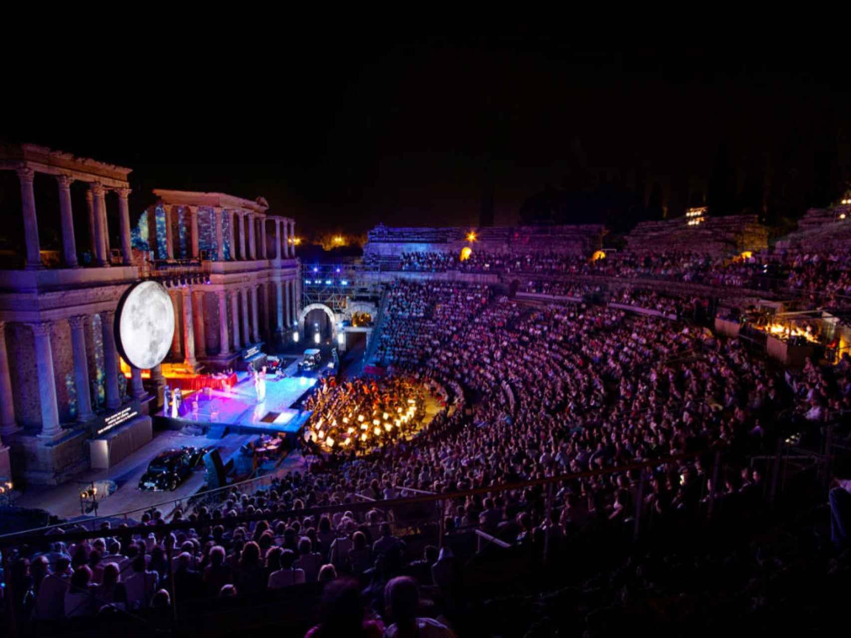 Festival de teatro clásico de Mérida.