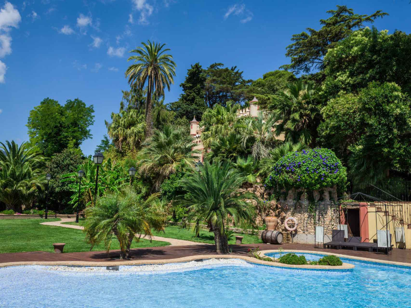 El alojamiento de 5 estrellas de Villa Retiro.