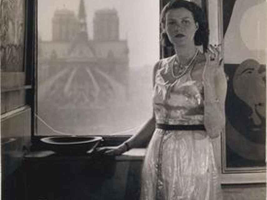 Peggy Guggenheim en París.