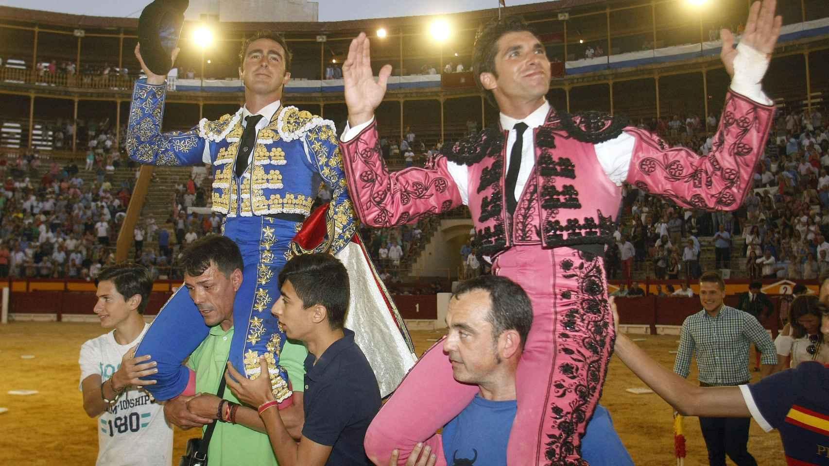 El Fandi y Cayetano en la Feria de San Juan