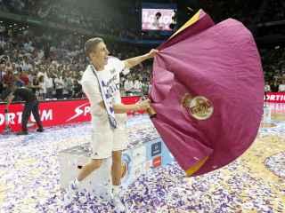 Jaycee Carroll, durante las celebraciones de la ACB.