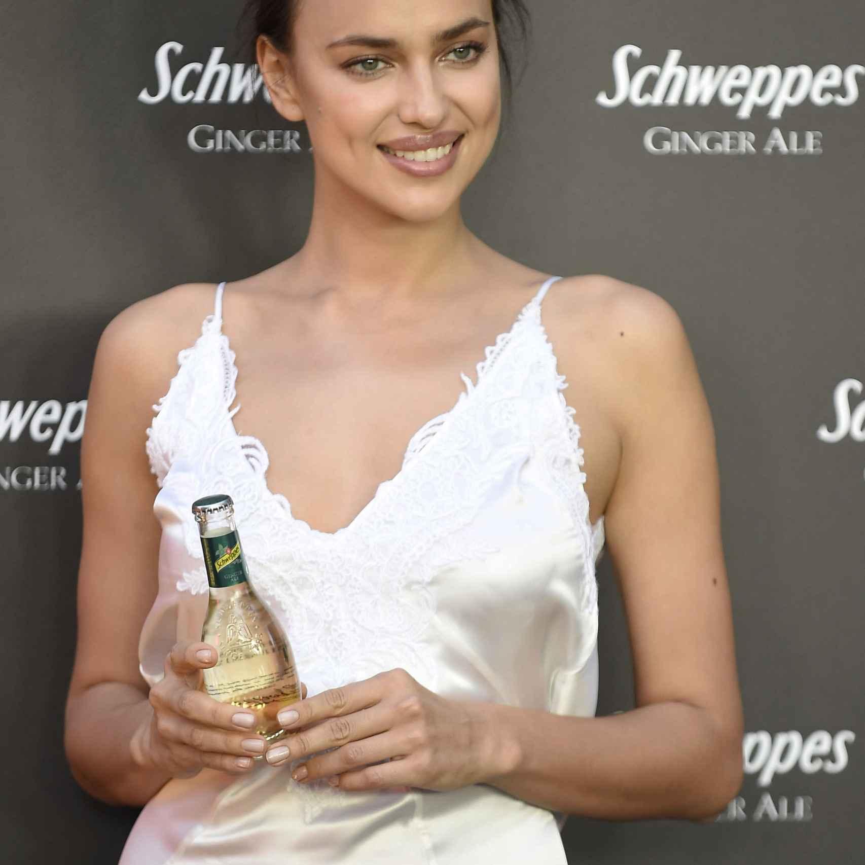 La modelo rusa en una fiesta en madrid