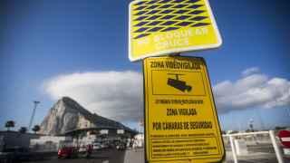 Controles fronterizos en Gibraltar.