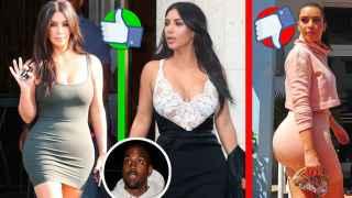 A Kim Kardashian le sale competencia: su delantera