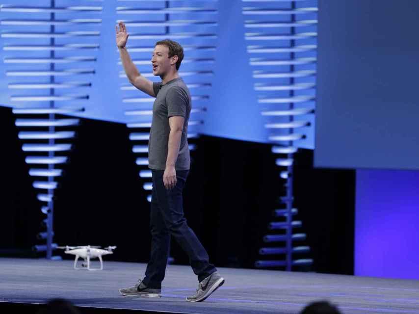 Mark Zuckerberg, CEO de Facebook, durante una conferencia en San Francisco
