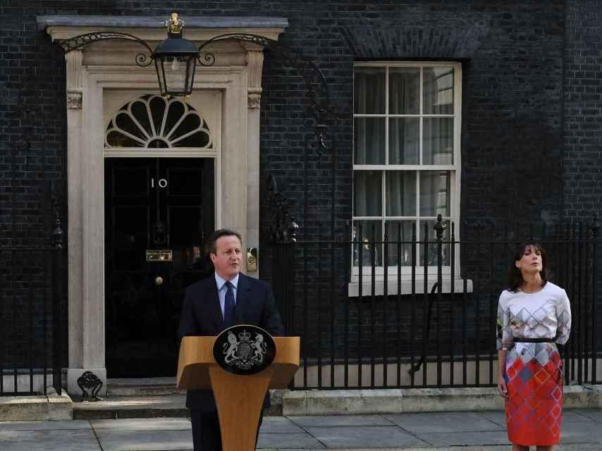 Rueda de prensa de David Cameron para anunciar su dimisión como primer ministro británico