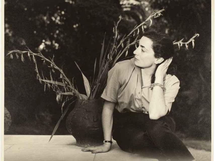 Jacqueline Picasso, en California, en 1958.