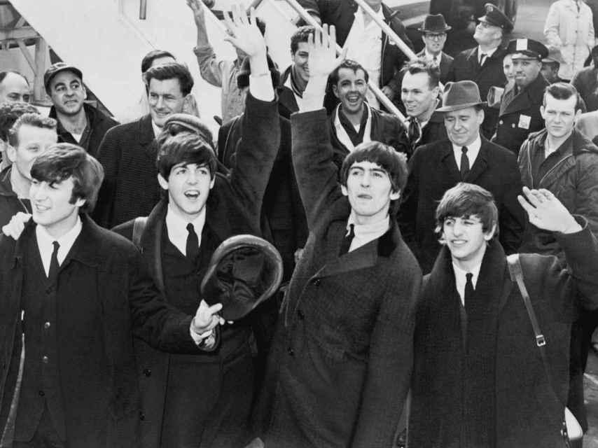 The Beatles, mítica banda británica.