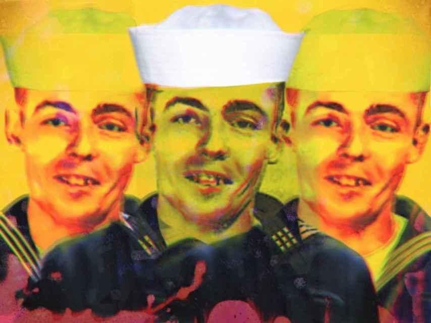 Una de las pocas imágenes de Thomas Pynchon, en versión de Javier Muñoz.