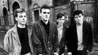 Imagen de The Smiths en los 80.