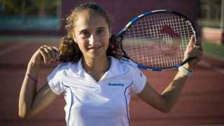 María Dolores, la primera tenista española en ganar Roland Garros sub 13.