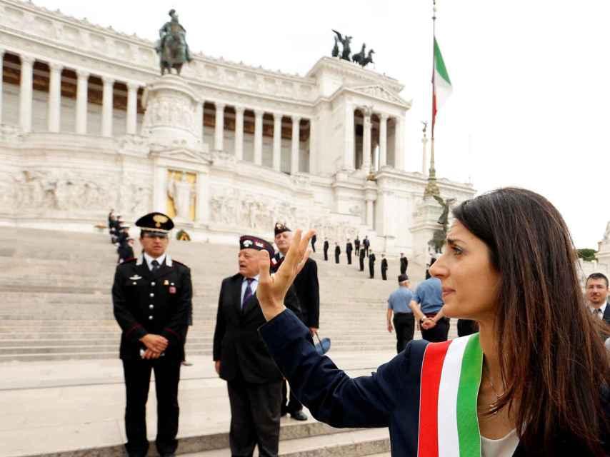 La alcaldesa electa de Roma, Virginia Raggi.