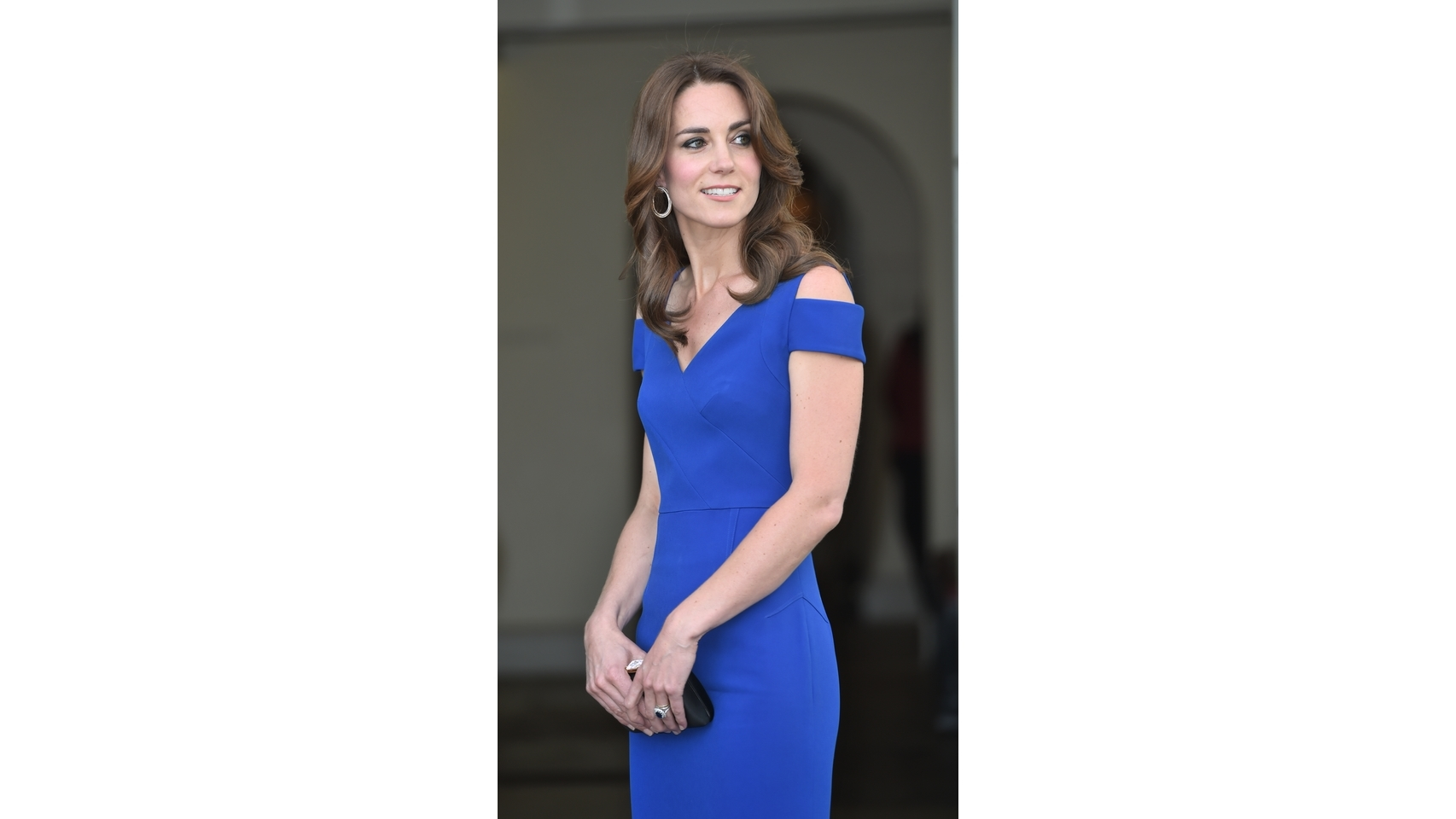 Kate Middleton, duquesa de Cambridge,en el 40 aniversario del Sports Aid en el palacio de Kesington.