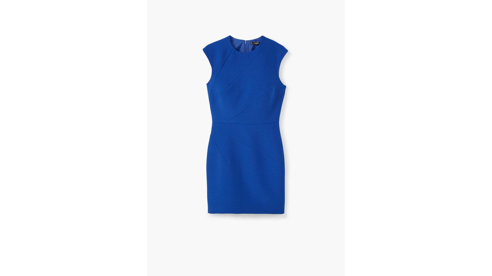 Vestido ajustado de Mango (29,99 Euros).
