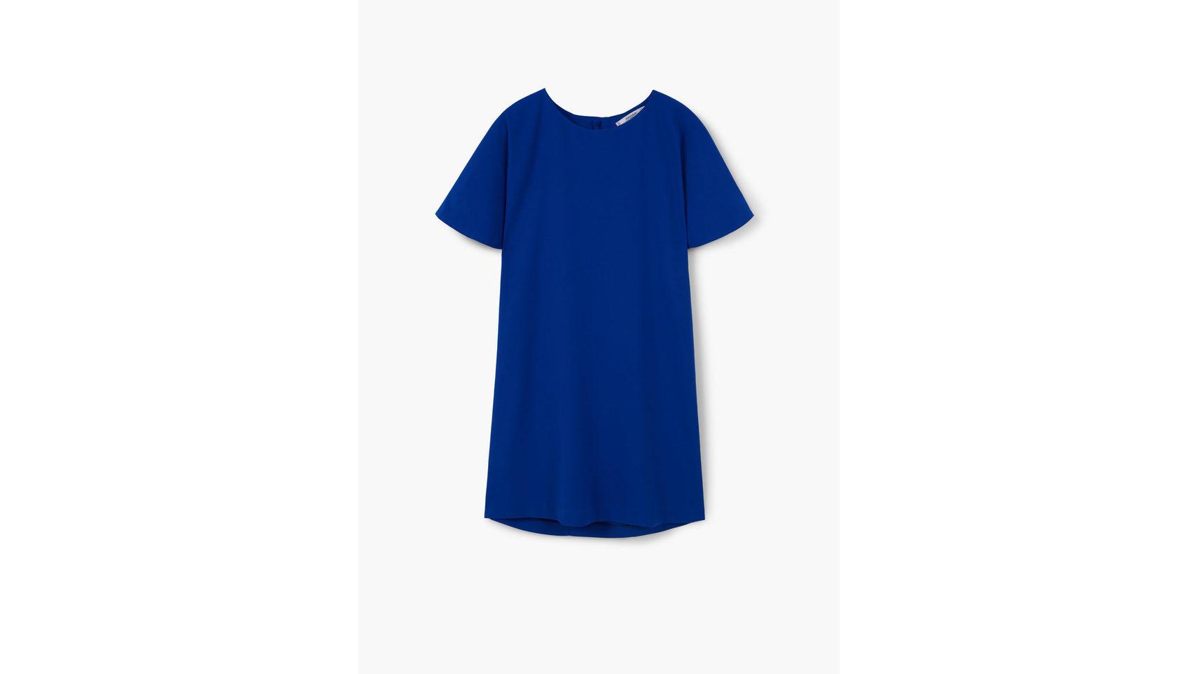 Vestido corto de mango( 29,99 Euros).