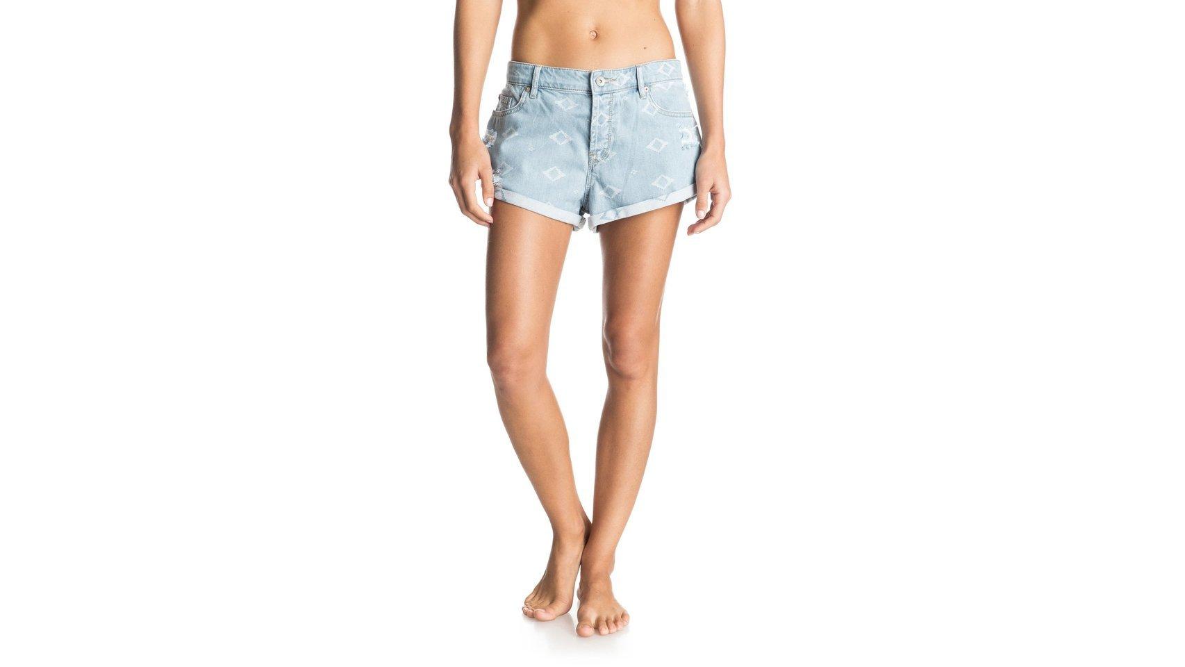 Pantalón corto denim de Roxy (61,00 Euros).