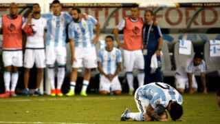 Messi falla en la tanda de penaltis y Argentina fracasa en otra final