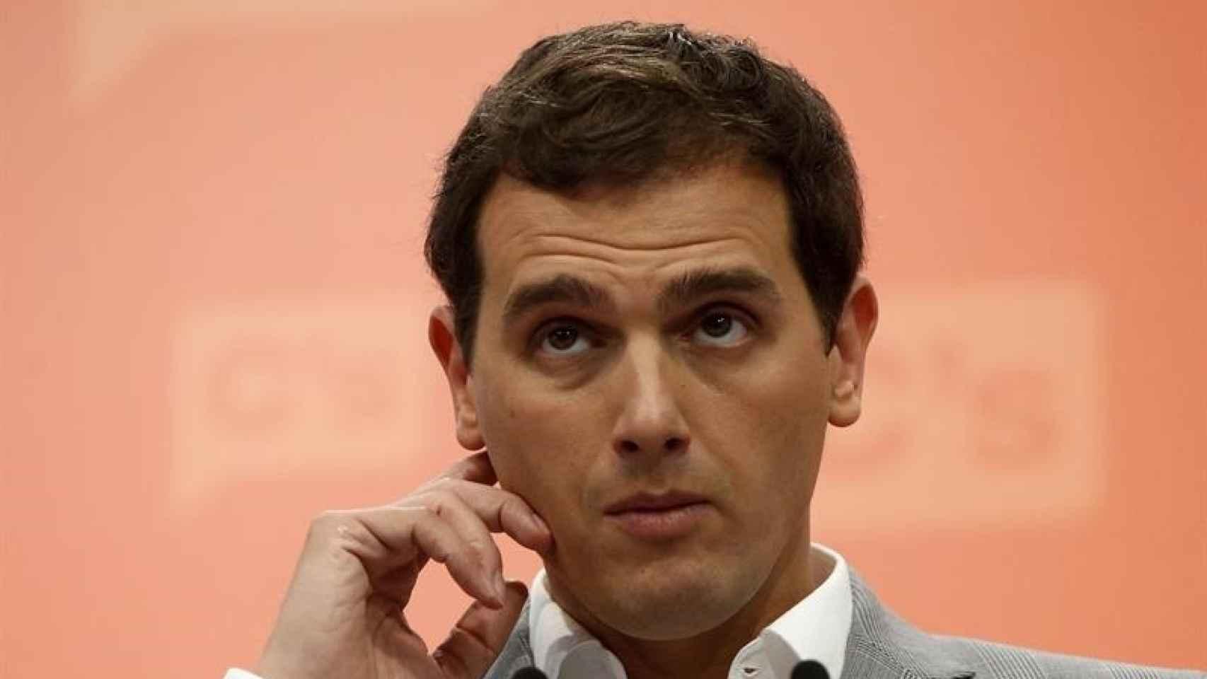 El líder de Ciudadanos, Albert Rivera/Juan Carlos Hidalgo/EFE