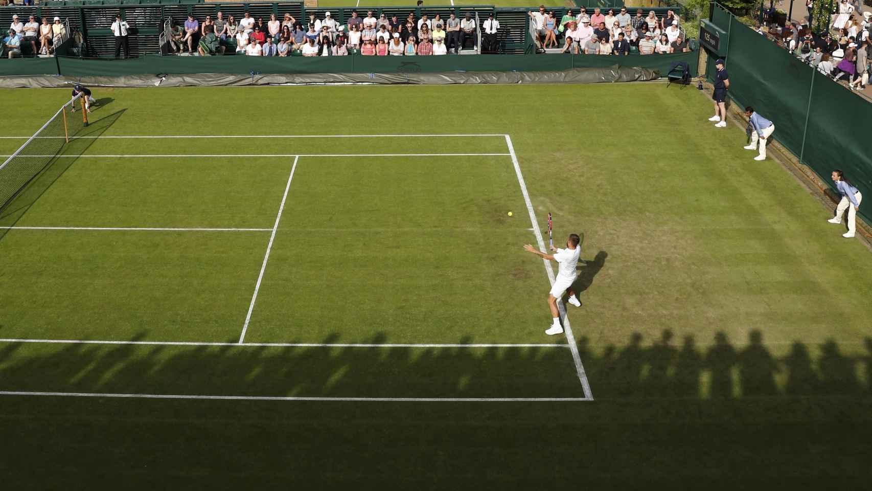 Pista de Wimbledon.