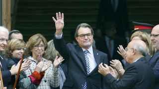 Artur MAs declaró ante el TSJC el pasado mes de marzo.