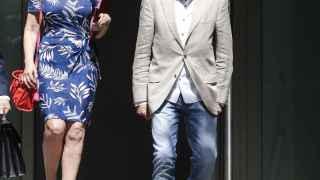 El actor Imanol Arias, tras declarar ante el juez Ismael Moreno en la Audiencia Nacional