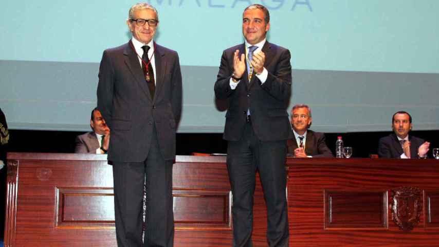 Manuel Azuaga sustituye a Braulio Medel en la presidencia de Unicaja tras 25 años