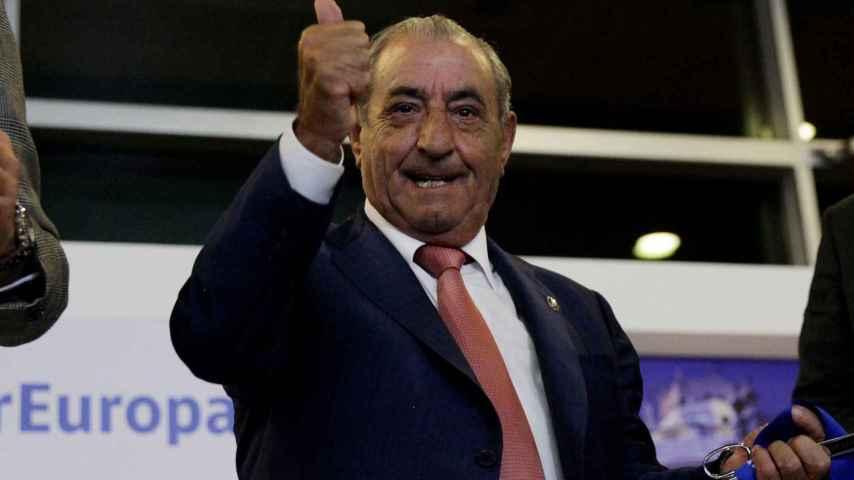 El presidente de Air Europa, Juan José Hidalgo.