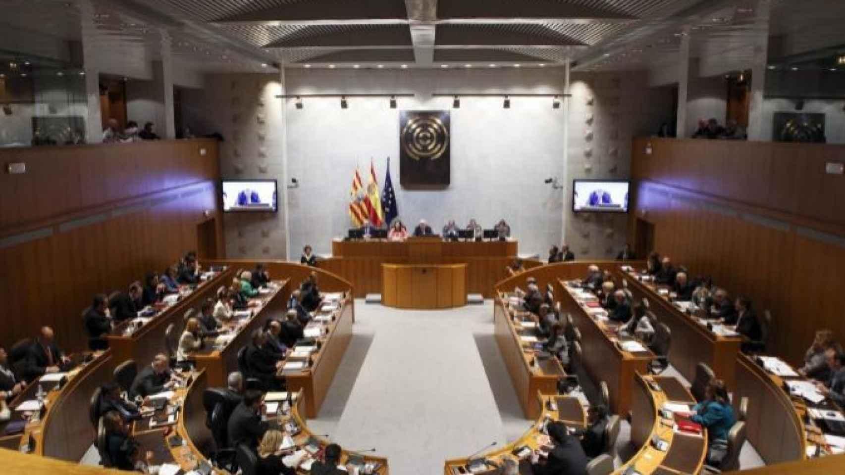 Cámara del parlamento aragonés