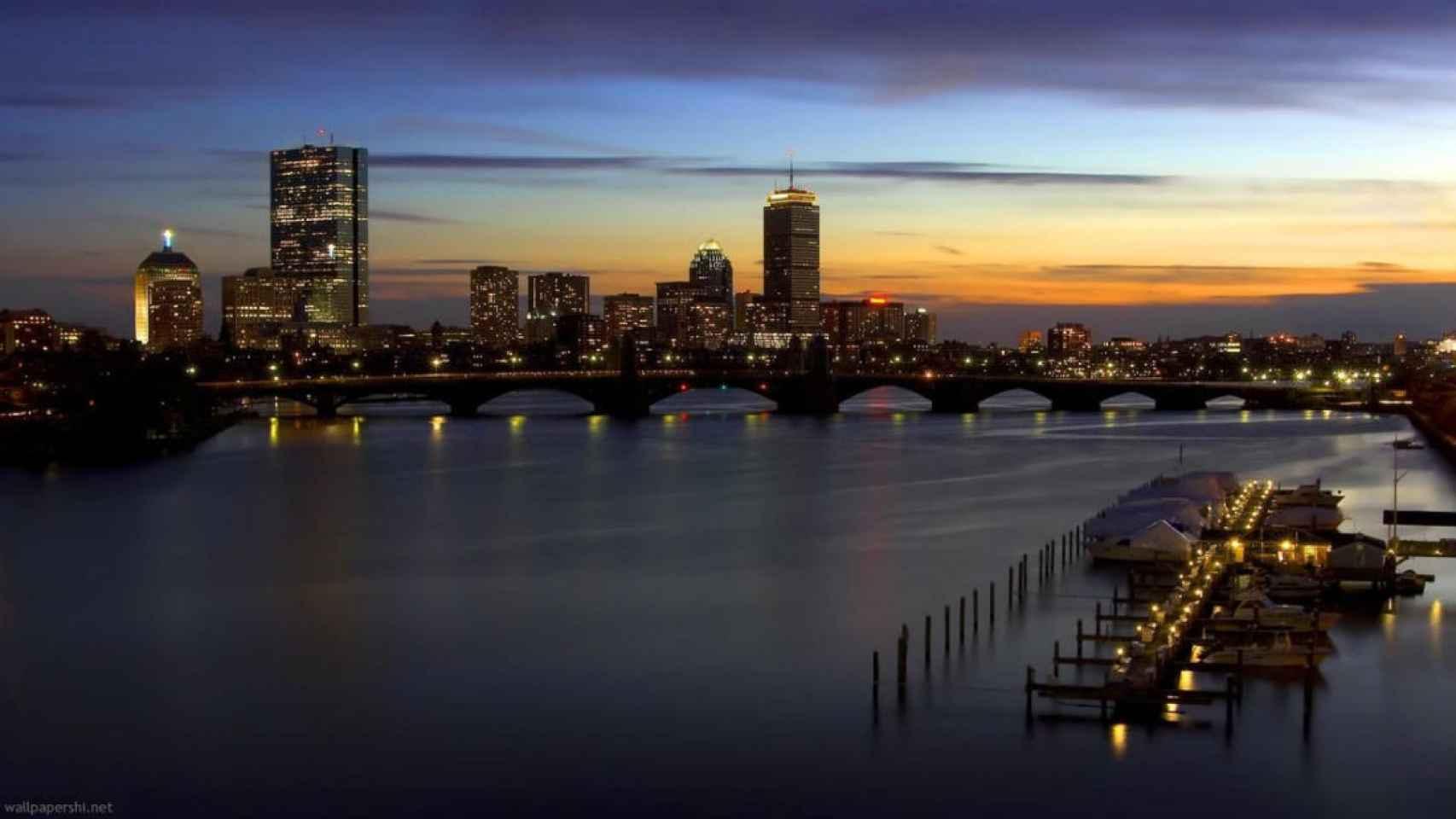 El skyline de Boston, una de las grandes ciudades de EEUU.