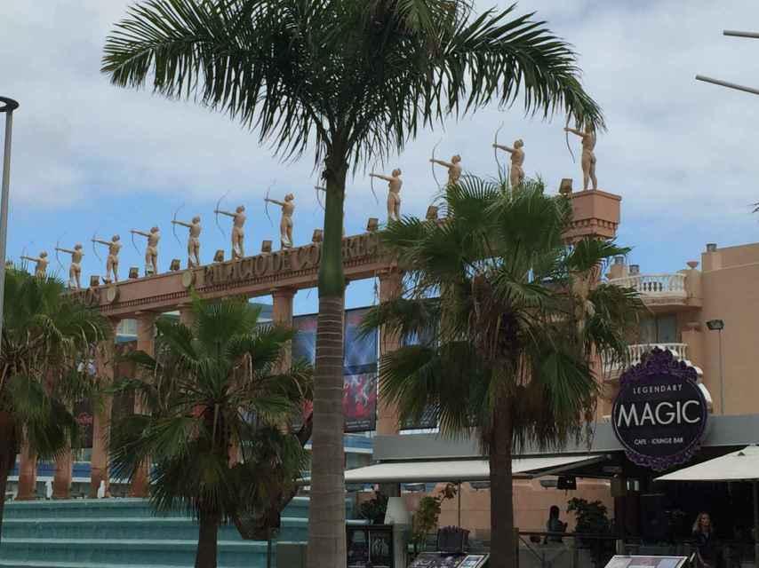 El Palacio de Congresos que acogía el Starmus.