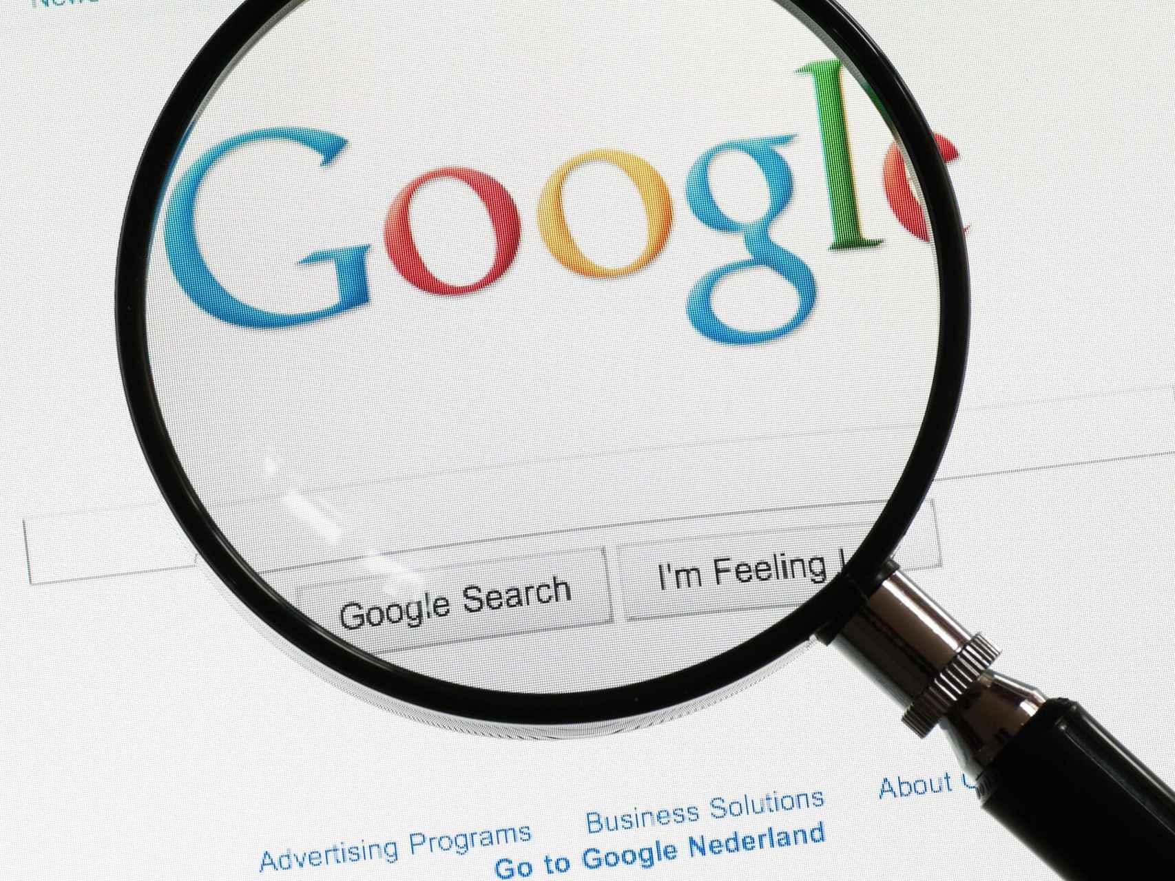 Google, bajo la lupa de Hacienda española.