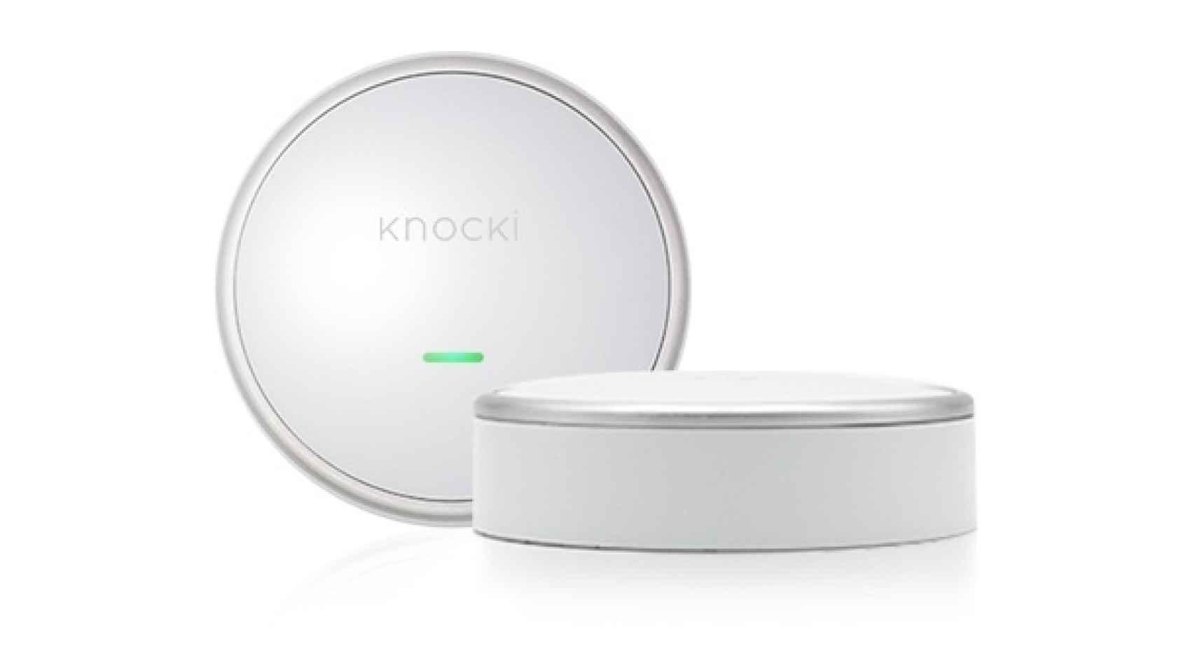 El dispositivo Knocki.