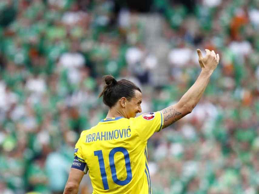 Ibrahimovic, en la Eurocopa.
