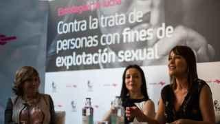 Rocío Nieto, Cruz Sánchez de Lara y Mabel Lozano.