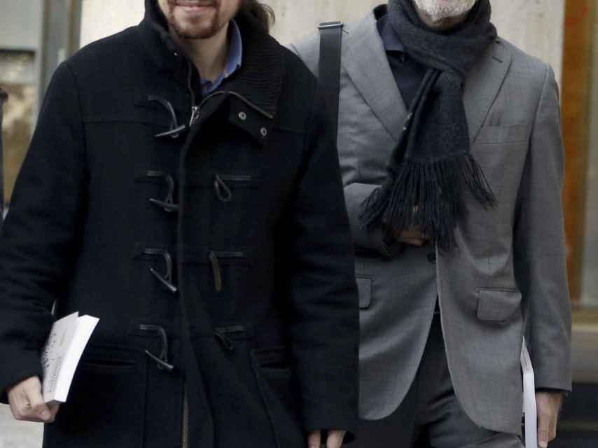 Julio Rodríguez fue una de las bazas electorales de Pablo Iglesias