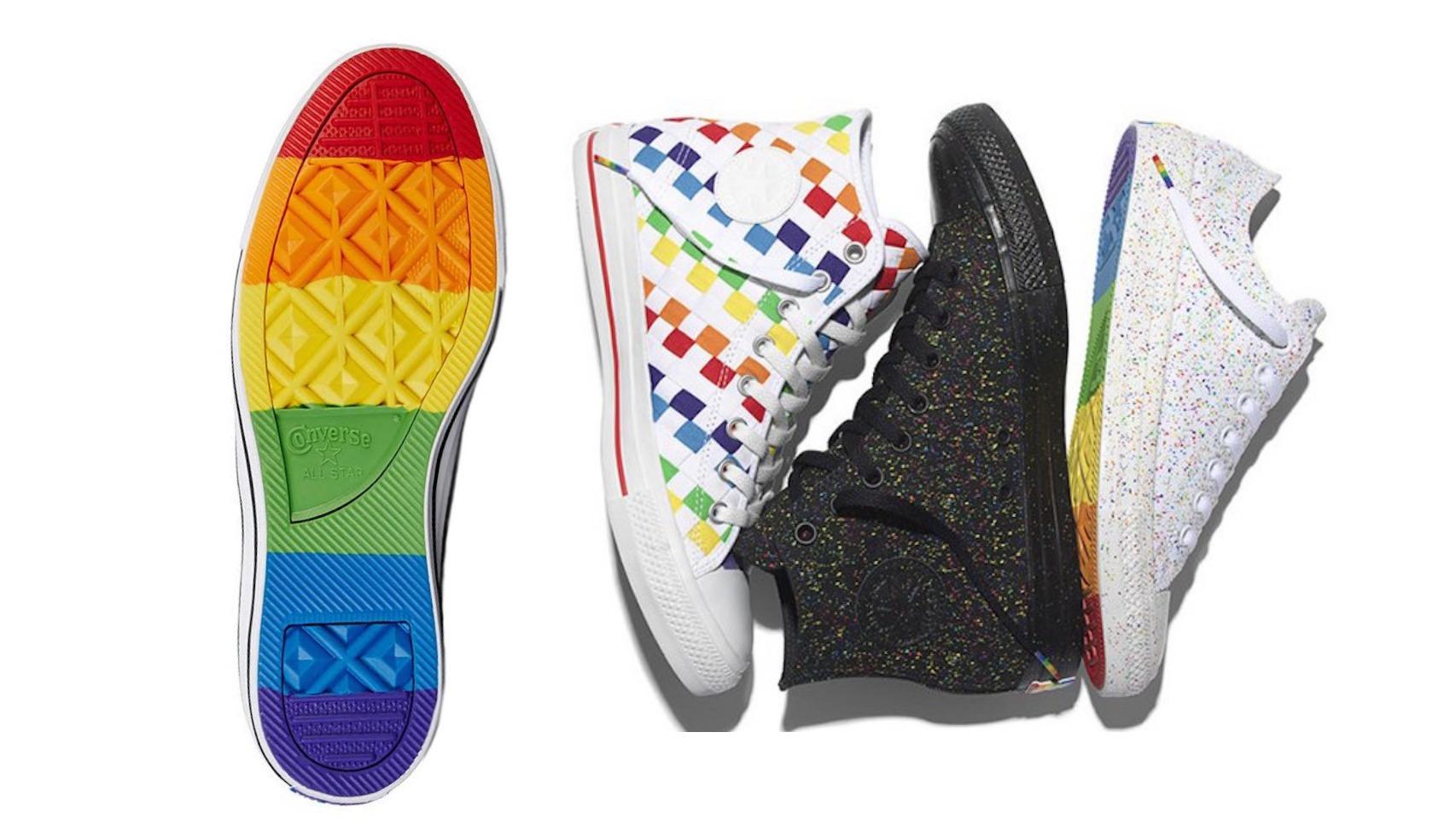 Luce en tus pies los colores del Orgullo con la colección All Star inspirada en el Orgullo 2016.