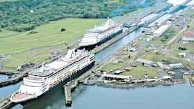 El Canal de Panamá en una imagen de archivo.