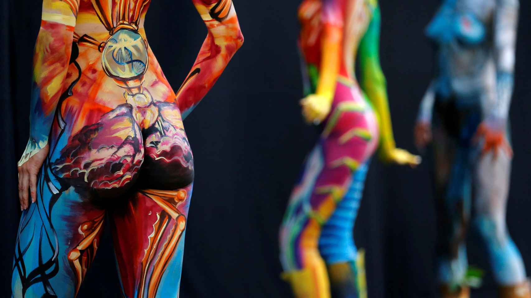 Australia, sede del campeonato del mundo del 'bodypainting'
