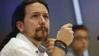 El secretario general de Podemos, Pablo Iglesias, ha inaugurado con la conferencia 'Cambio político en España'.