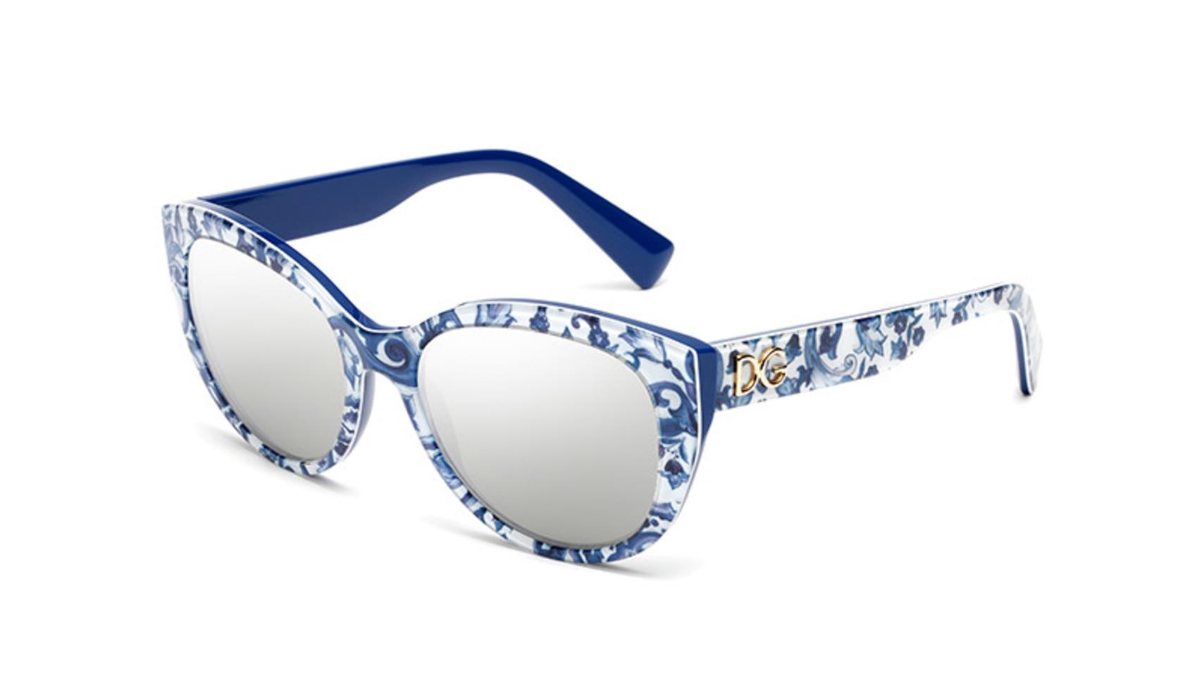 Gafas de sol de la colección Maiolica de Dolce Gabbana.