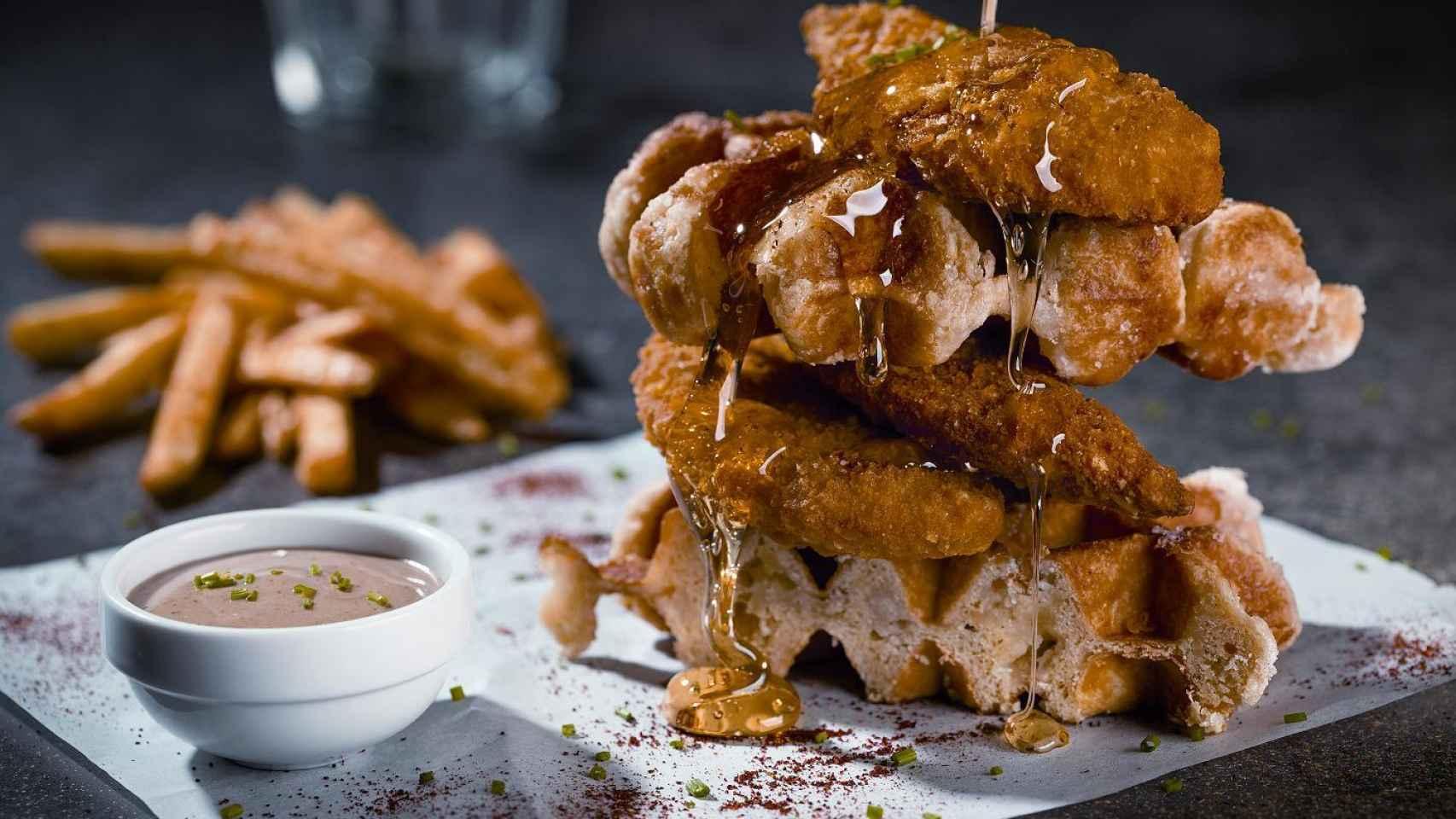 Chicken and Waffles, no apto para la operación bikini.
