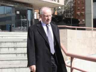 Rodrigo Rato, tras una comparecencia en la Audiencia de Madrid