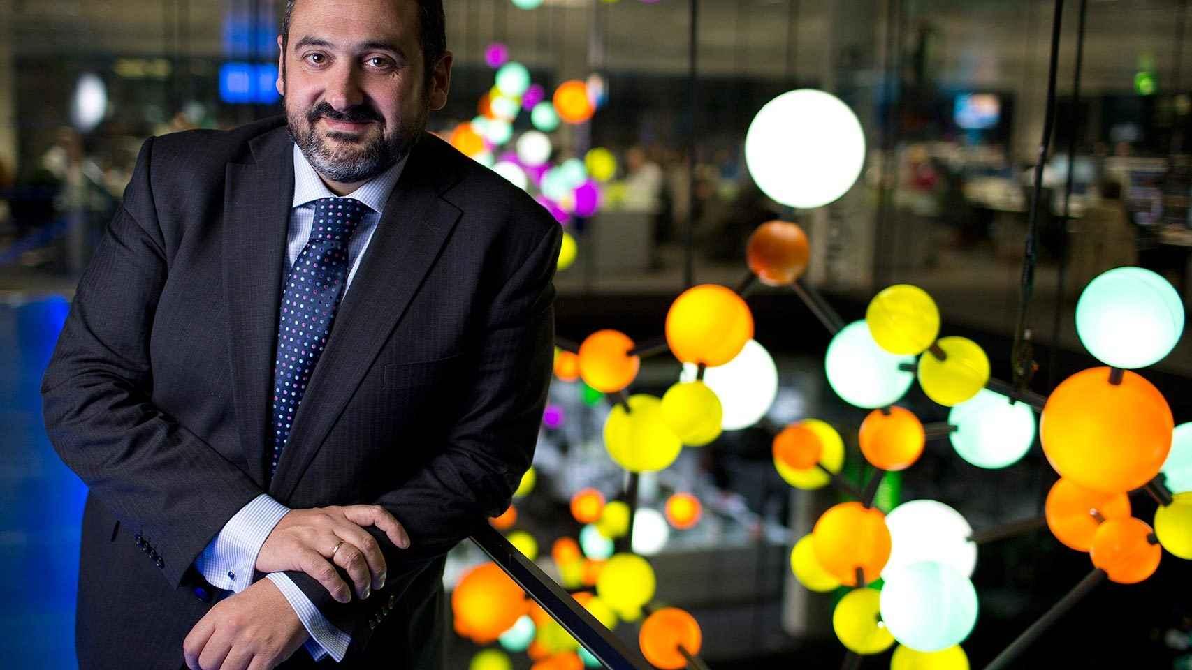 El expresidente de Vueling, Alex Cruz.