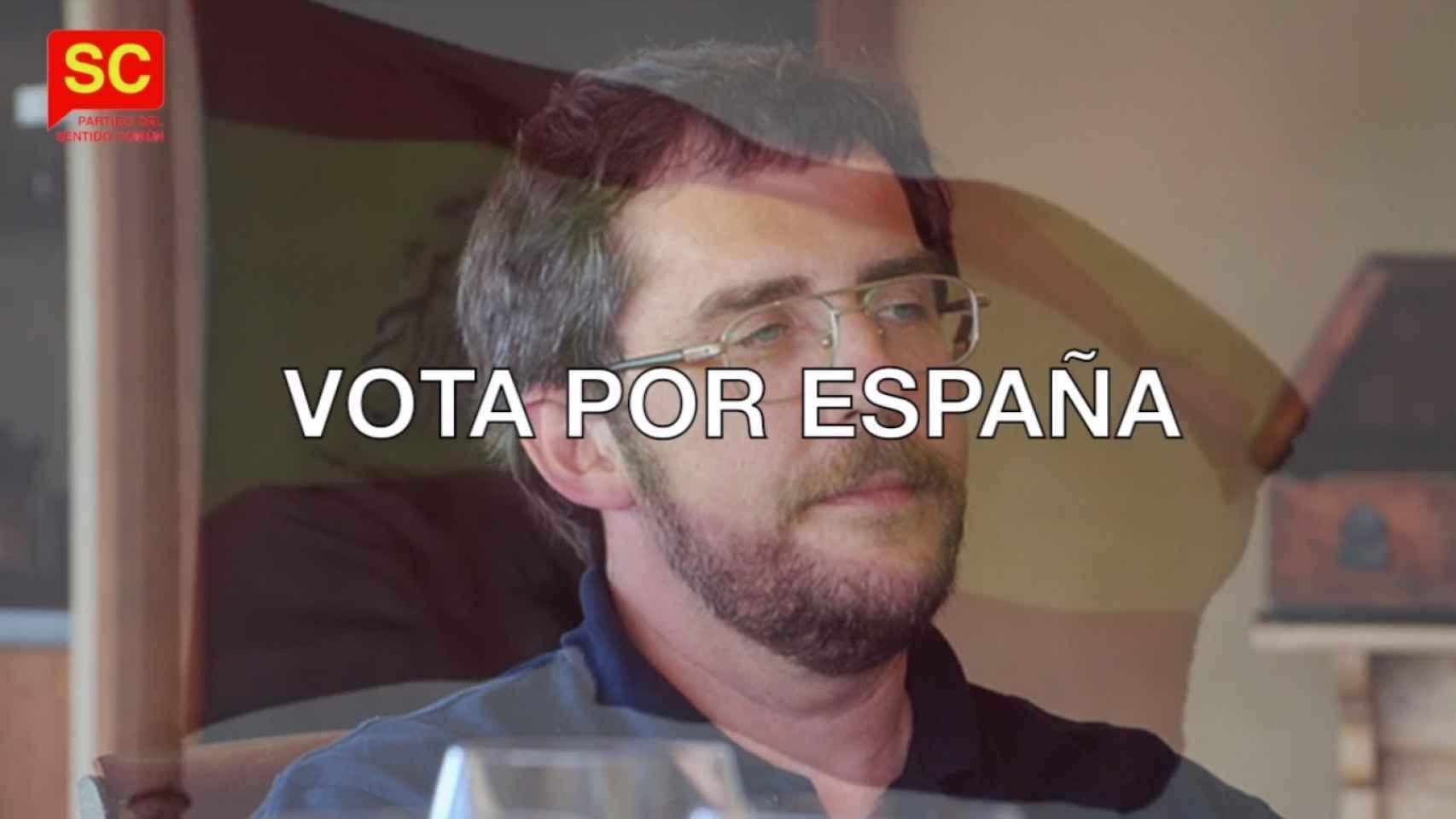 Imagen del spot electoral del PSC