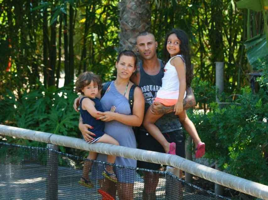 La familia del futbolista portigués