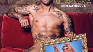 Quaresma, el otro cuerpo de la Selección portuguesa