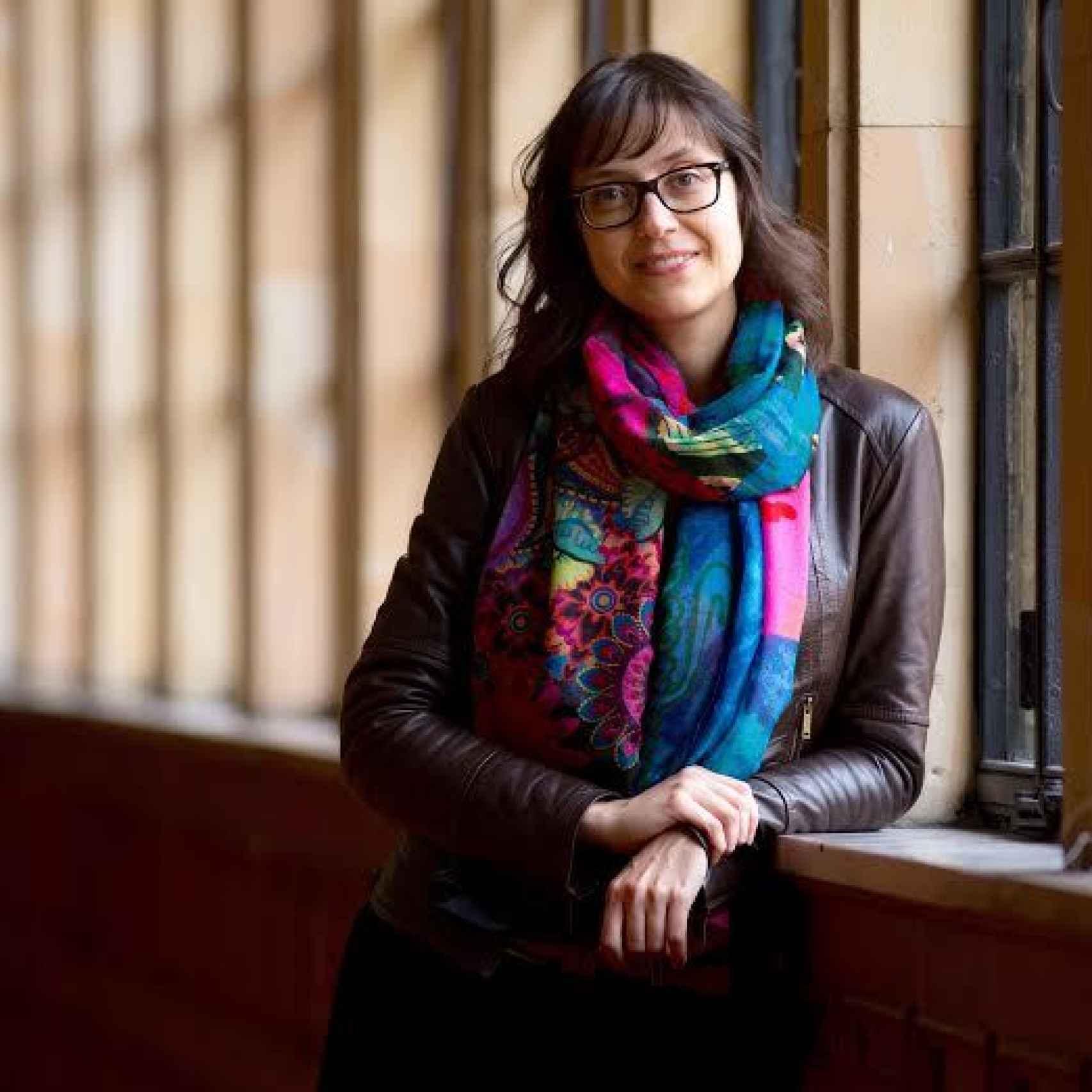 La profesora de la Universidad de Oviedo Miriam Perendones.